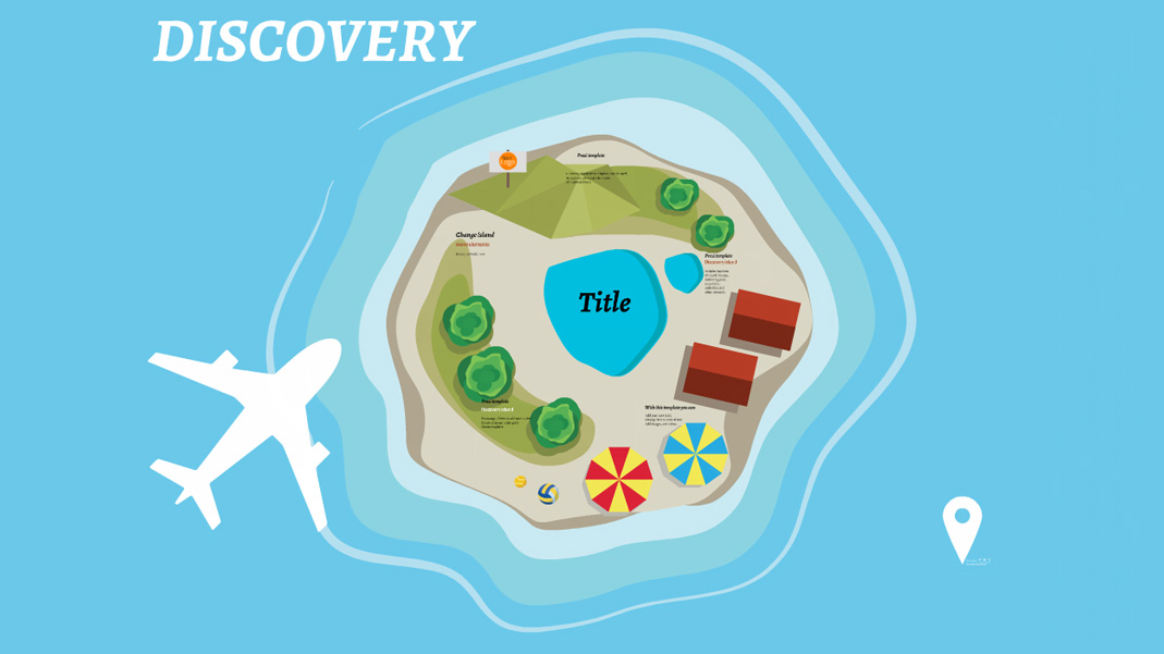 Discovery Island Prezi Template Prezi Template  Prezibase