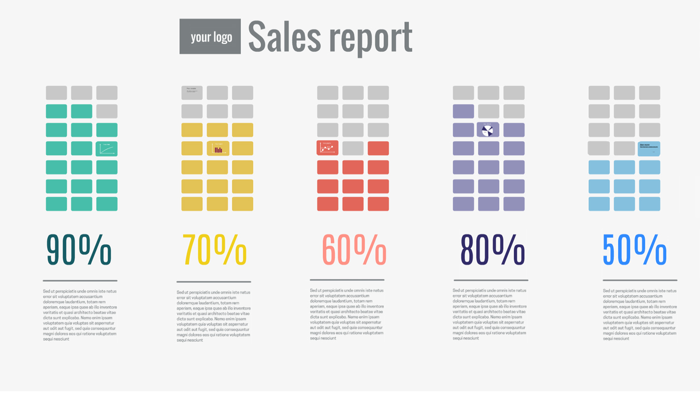 Sales report Prezi Template Prezibase