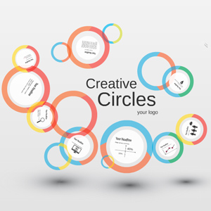 creative circles prezi template
