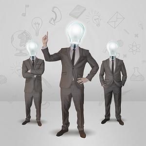 creative-ideas-businessman-light-bulb-head-planning-innovation-3D-thinking-sketch-blueprint-prezi-templates