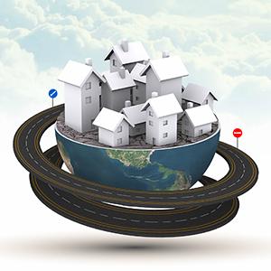 3D-global-village-world-road-professional-small-city-business-international-prezi-templates