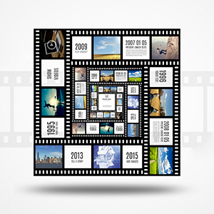 3D photo box prezi template
