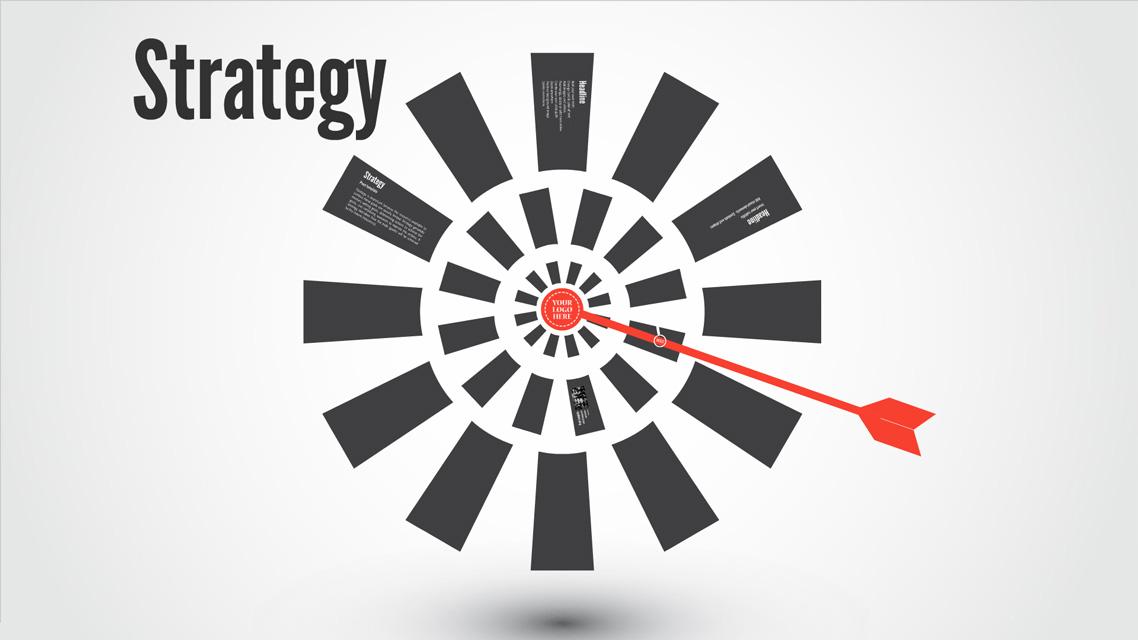 Strategy Prezi template