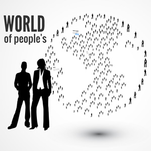 World of people's Prezi template
