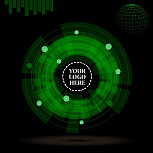 animated-3D-futuristic-technology-radar-prezi-template-green-circle-creative-presentations