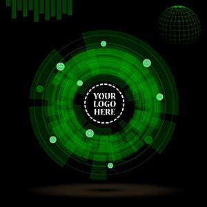 animated-3D-futuristic-technology-radar-prezi-template-green-circle-creative-presentations