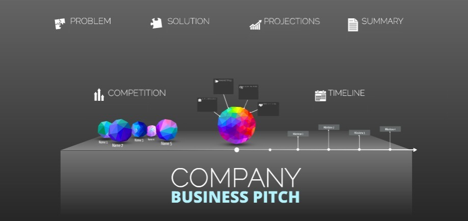 Business pitch free prezi presentation template prezibase business pitch mony company free presentation template pronofoot35fo Gallery