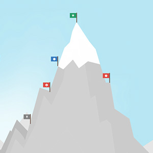 Climb the Mountain Prezi template