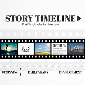 film strips template