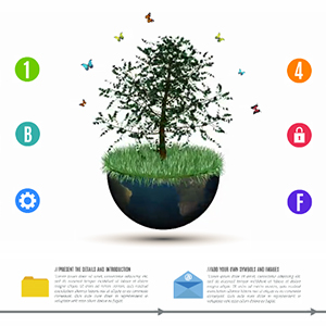 global-growth-3d-economy-tree-globe-business-professional-infographic-prezi-templates