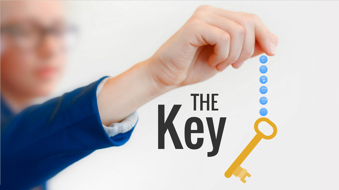 key prezi template