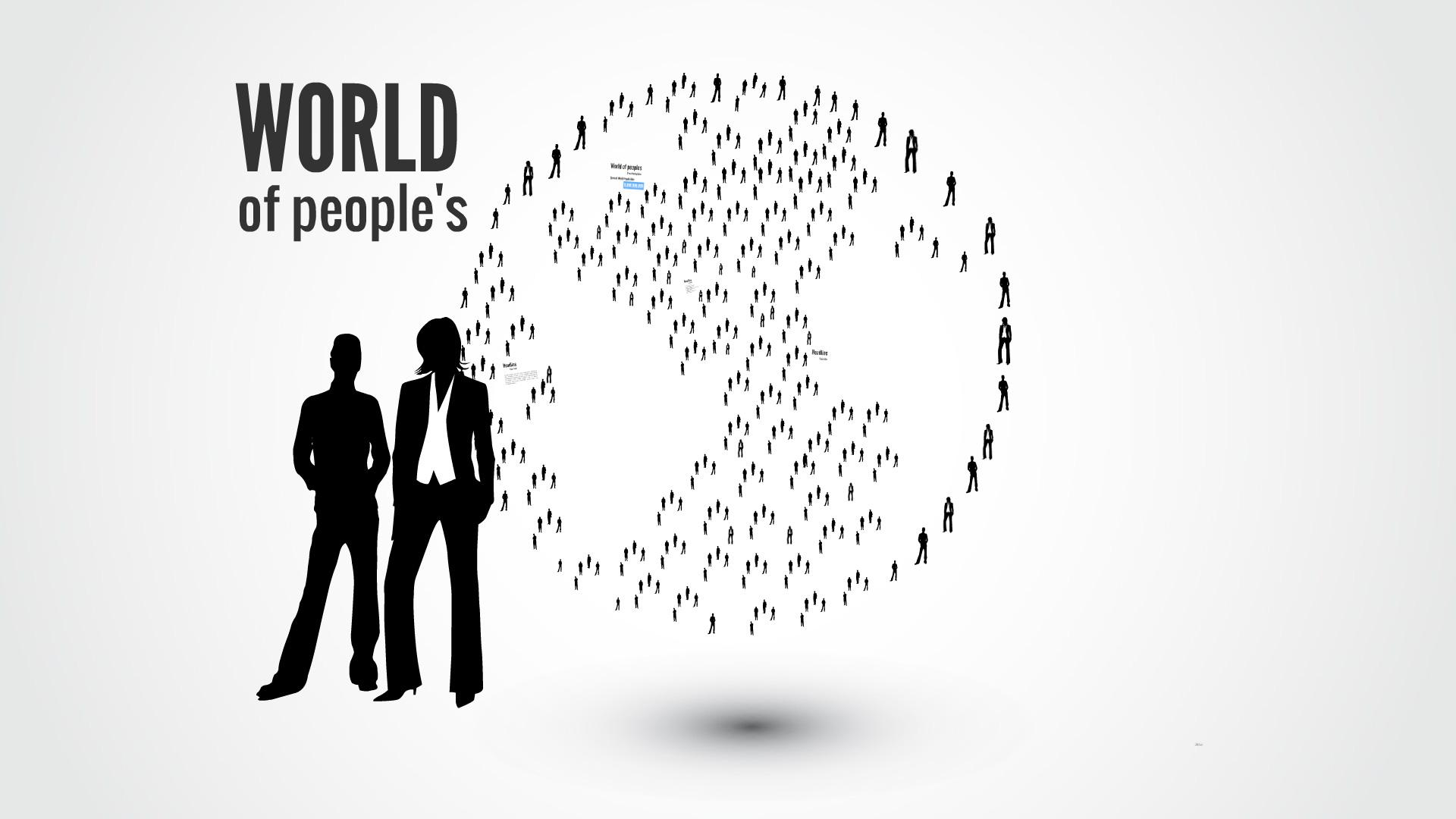World of peoples Prezi template