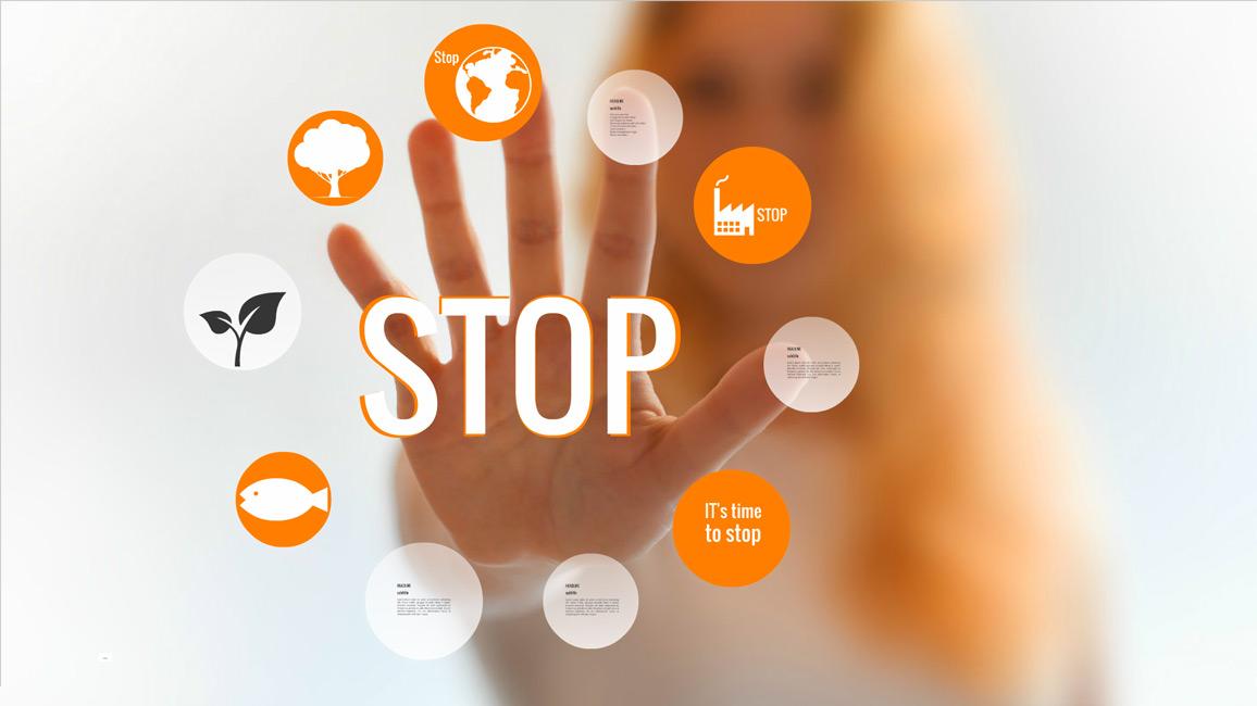 Stop - Prezi template