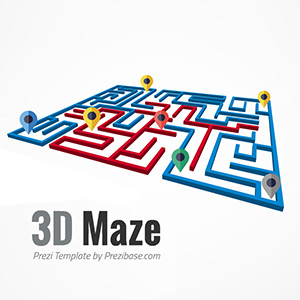 3D-maze-labyrinth-route-to-success-path-prezi-presentation-template-thumb
