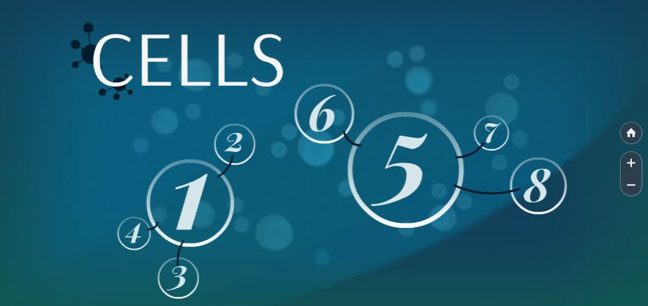 cells-blue-white-numbers-circle-free-presentation-template
