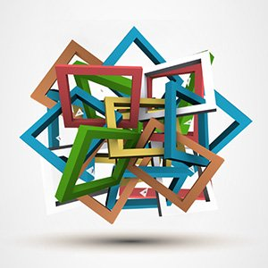 colorful-3D-tangled-frames-abstract-art-prezi-presentation-template-thumb