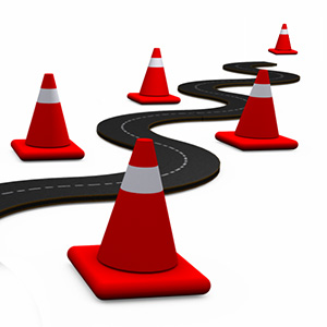 dangers-ahead-traffic-cones-risks-problems-obstacles-3d-road-prezi-presentation-template-thumb