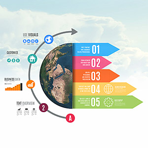professional-infographic-world-earth-3d-planet-sky-arrows-prezi-presentation-template