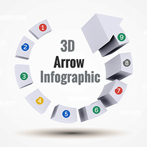 3D-arrow-infographic-circle-progress-stages-prezi-presentation-template-thumb