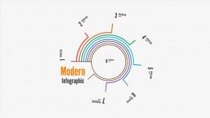 Modern Infographic report Prezi template