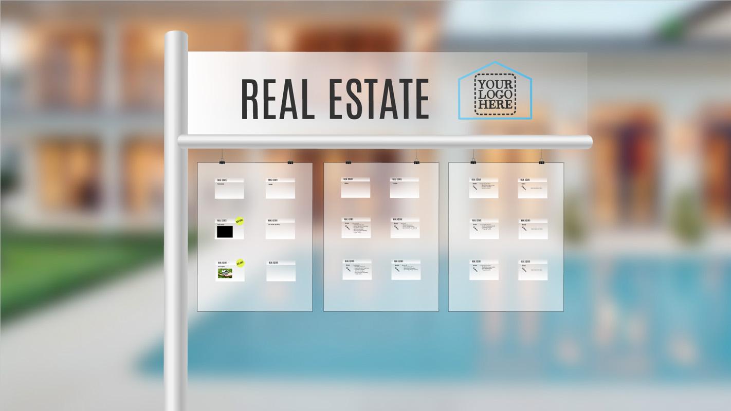 Real estate Prezi template