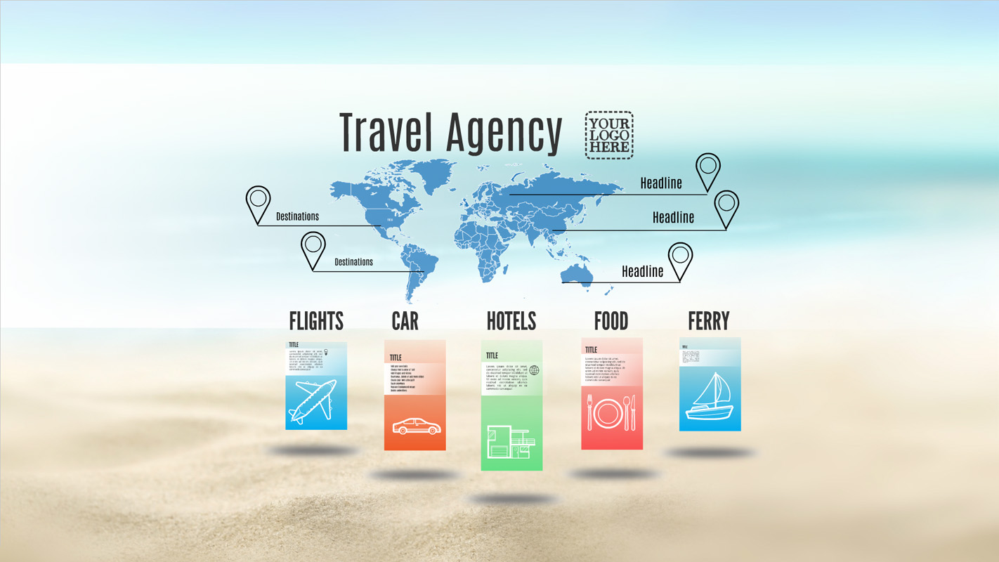 Travel Agency Prezi Template Prezibase