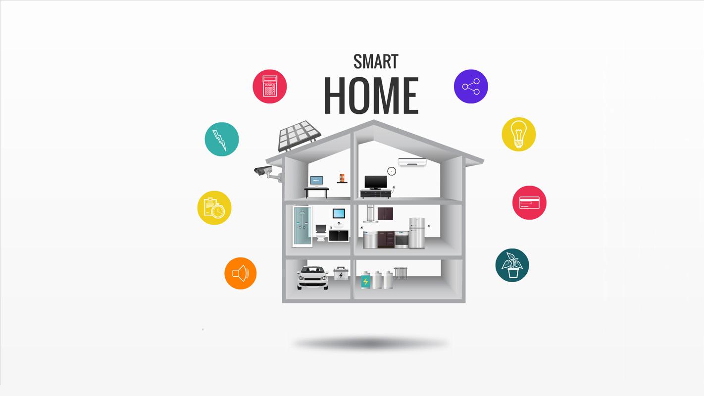 flat roof garage ideas - Smart Home Prezi Template