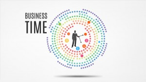 Business time Prezi template