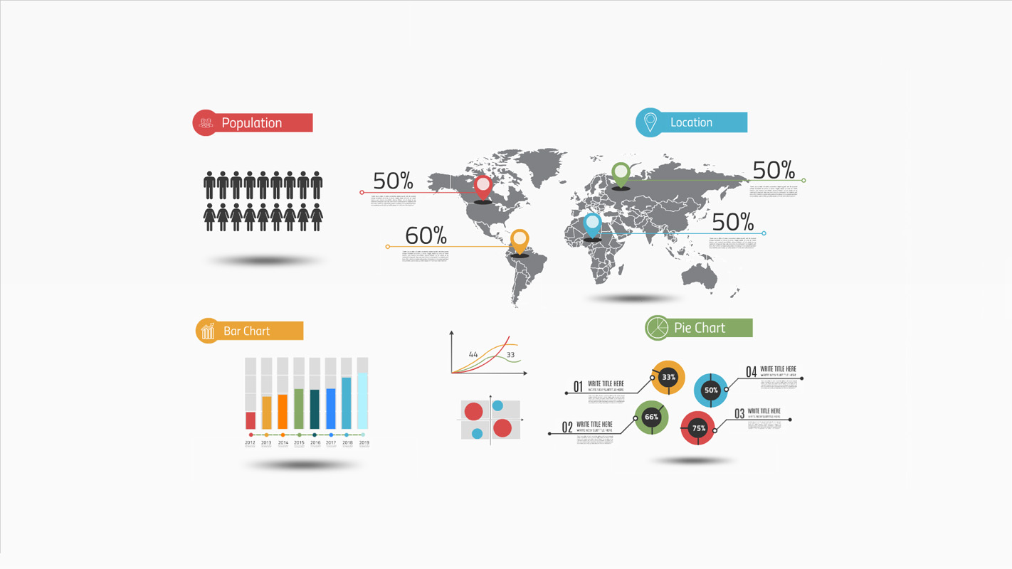 Infographic layout Prezi template