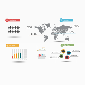 Infographic layout Prezi template