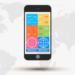 Apps development, Prezi template, mobile apps development presentations,