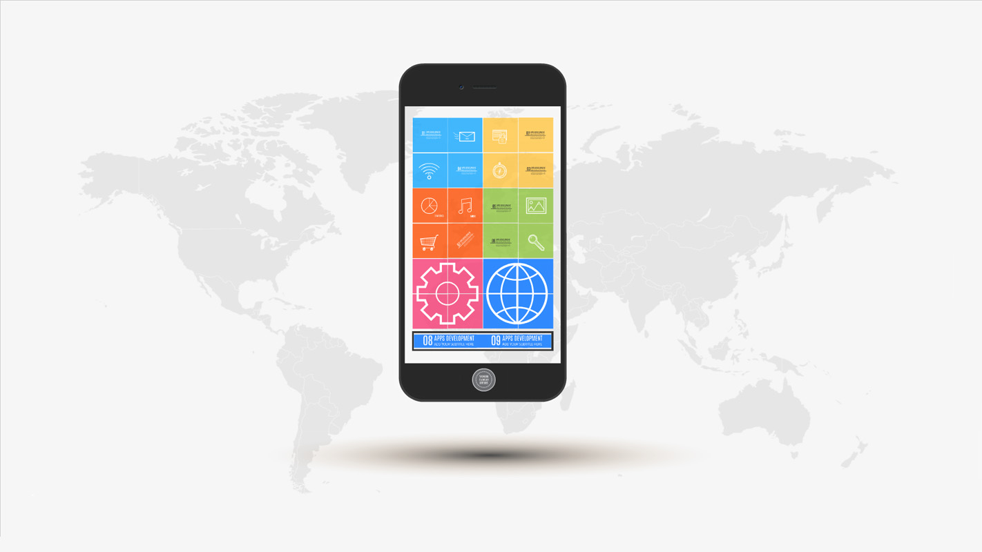 apps development prezi template | prezibase, Powerpoint templates