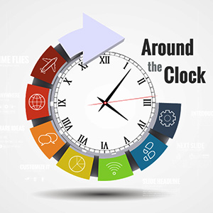 around-the-clock-3d-circle-time-infographic-business-timeline-deadlines-arrow-prezi-presentation-template-thumb