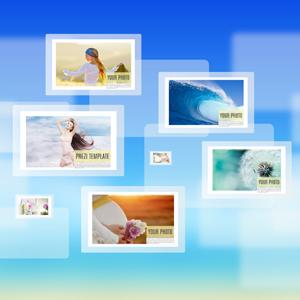 Photo presentation Prezi template