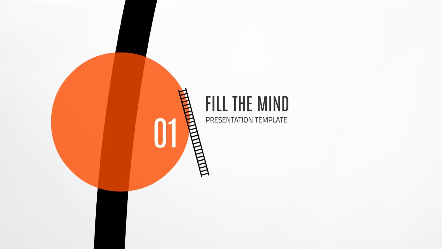 Fill the Mind Prezi template