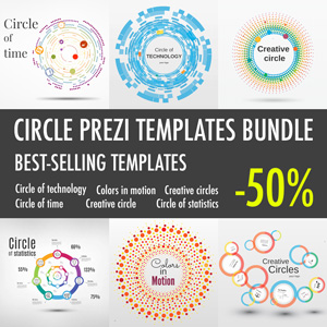 Circle template bundle
