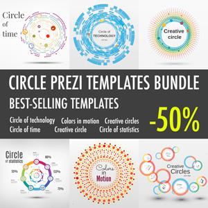 Circle template bundle