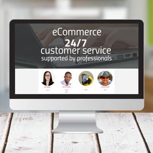 eCommerce Customer Service - Prezi template