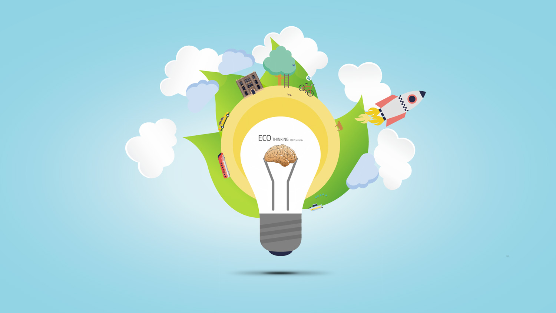 Eco Thinking Prezi template