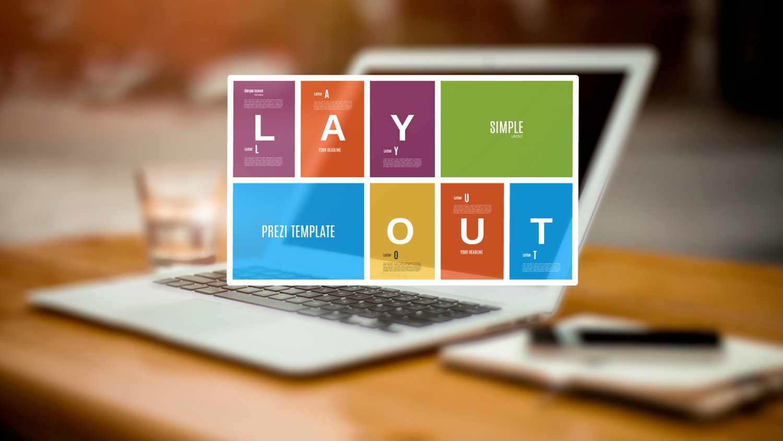 Simple Layout Prezi template