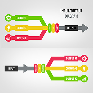 free-input-output-diagram-flowchart-presentation-prezi-template