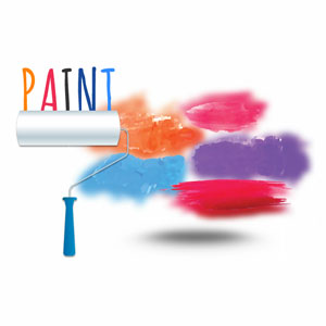 Paint - Prezi template