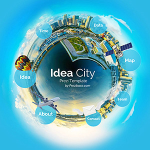 Smart City Prezi Template Prezibase