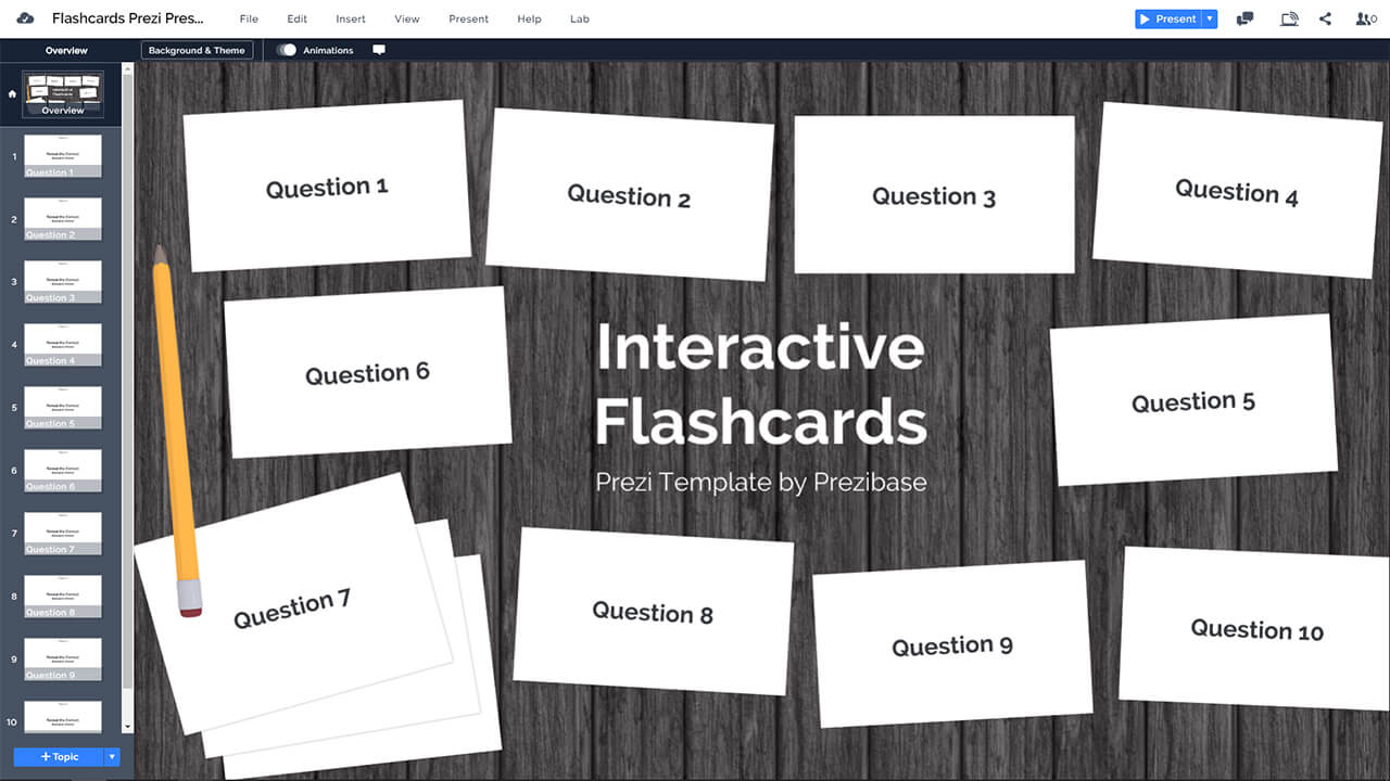 interactive-online-flashcards-prezi-presentation-template-online-game