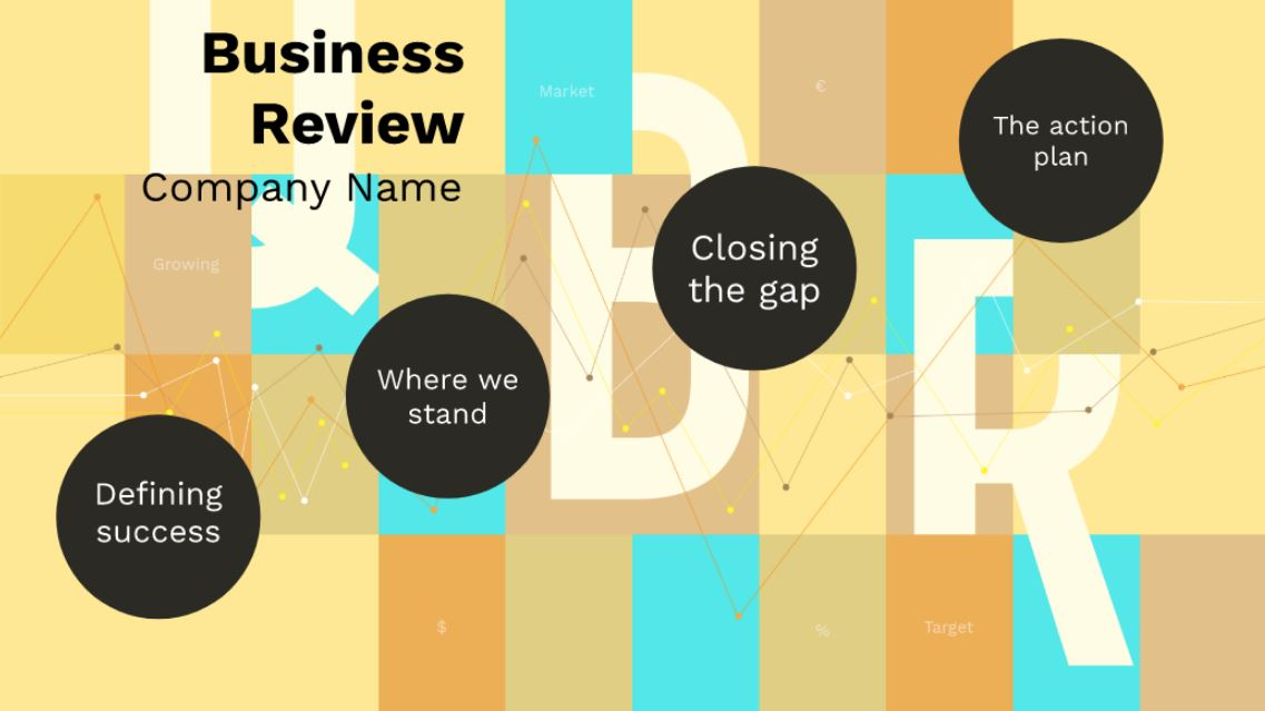 Charming Quarterly Company Business Review Free Prezi Next Presentation