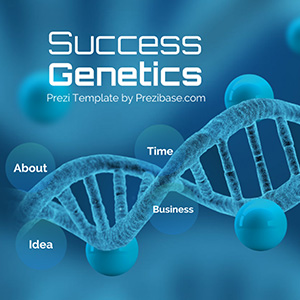 DNA-genetics-biology-prezi-next-template