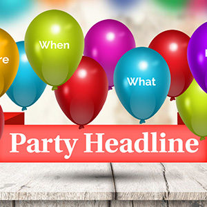 party powerpoint template free download prezibase