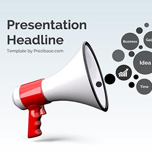 megaphone-bullhorn-prezi-presentation-template