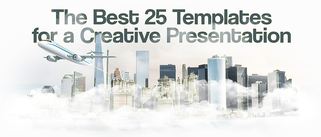 The Best 25 Templates For A Creative Presentation 2018