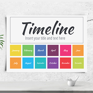 annual-timeline-presentation-template